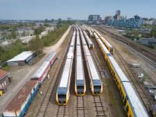 NS wil verkoop van in Nijmegen wegroestende Buffel-treinen terugdraaien