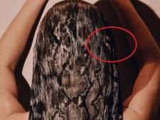 Kim Kardashian heeft zwevende vingers in haar na fotoshop-misser