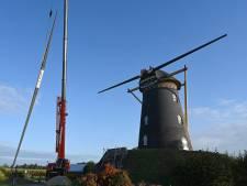 Gevaarlijke metalen roeden van molen in Oeffelt verwijderd