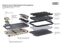Het koelsysteem van de Audi e-Tron bevat 22 liter koelvloeistof