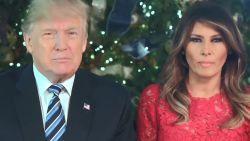 """De kerstboodschap van de Trumps: """"Mensen zijn weer trots om 'zalig Kerstmis' te zeggen"""""""
