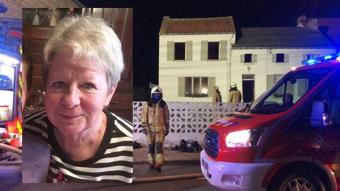 Buren probeerden nog om de woning van Rita binnen te dringen, maar de weduwe stierf in de brand.