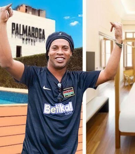 Huisarrest Ronaldinho in viersterrenhotel met cocktailbar en rooftopzwembad
