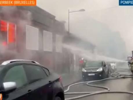 Incendie dans une école désaffectée à Schaerbeek