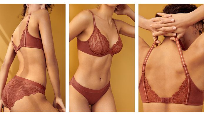 La lingerie couleur cannelle chez Marie Jo.
