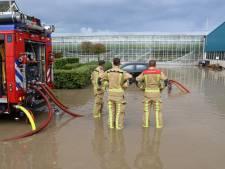 Heftige regenbui en De Lier staat alweer onder water: 'Is het weer bij de mensen binnengekomen?'