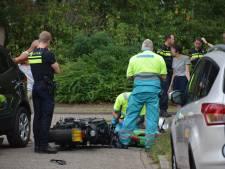 Motorrijder raakt gewond bij aanrijding met auto in Nijmegen