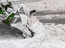 Wegen sneeuwvrij krijgen is lastig omdat we te weinig rijden