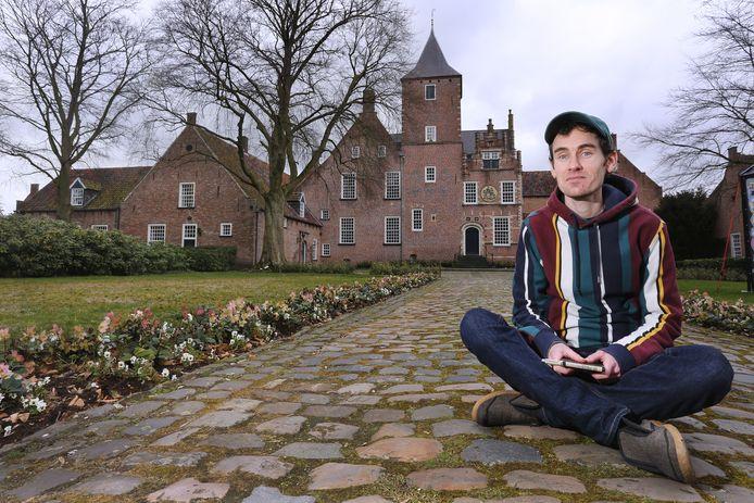 Ludwig Volbeda in Oosterhout.