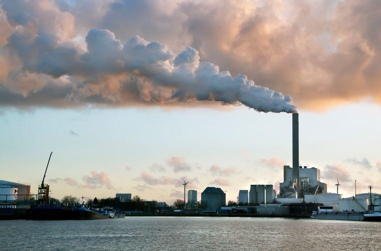 De kolencentrale van Nuon aan de Hemweg.  Beeld Hollandse Hoogte