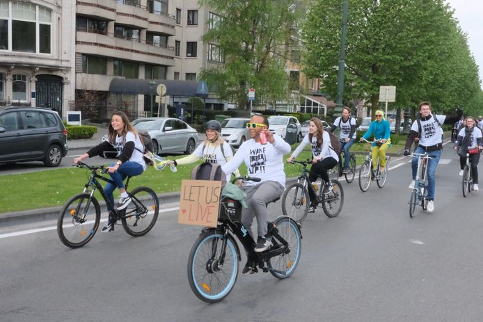 Cycle for Freedom van start aan Jubelpark