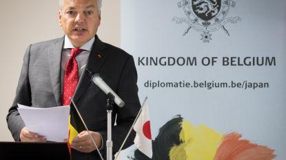 """Reynders bezoekt Hiroshima: """"België ijvert voor een verbod op kernproeven"""""""