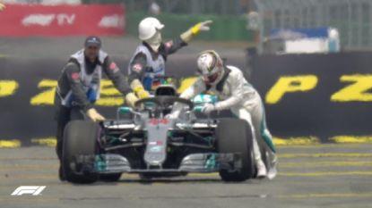 Drama voor Hamilton in GP van Duitsland: Vettel profiteert optimaal en pakt de polepositie