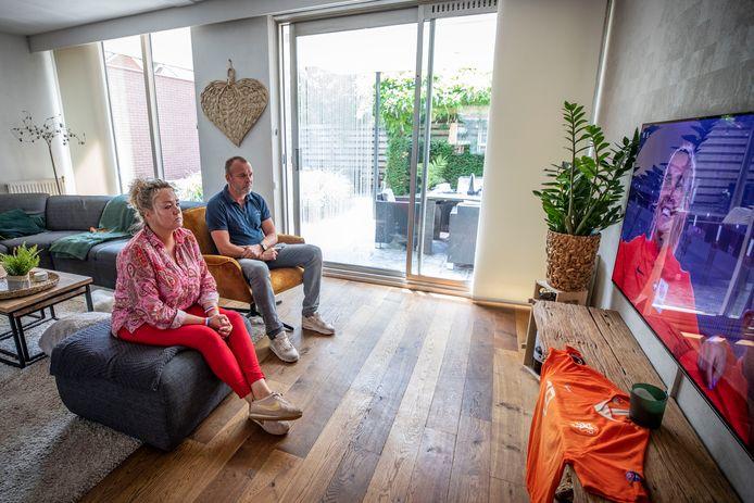René en Chantal Roord, de ouders van voetbalster Jill Roord.