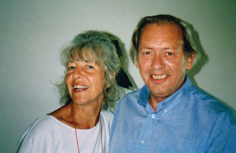 Margriet met haar man Hans Pullens. Beeld Privéfoto