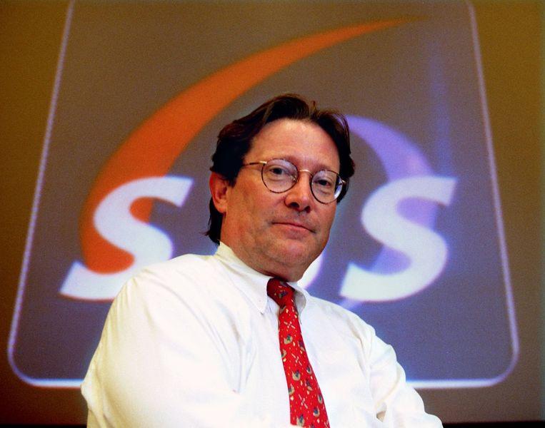 Fons van Westerloo ten tijde van de start van SBS6. Beeld ANP