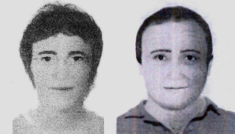De twee collectanten die op verschillende plekken in Praia da Luz gezien zijn. Beeld Opsporing Verzocht