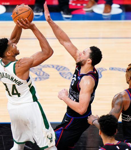 Giannis Antetokounmpo et James Harden en mode MVP, Steph Curry blessé