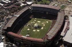 Ellis Park Stadium à Johannesburg.