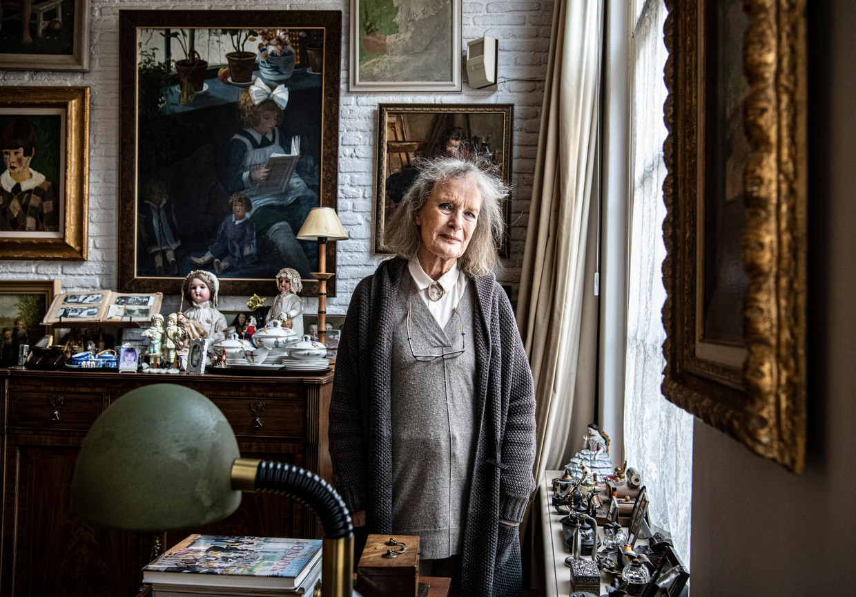 Emmy Strik (77) is oprichtster en bedenker van het Dickens Festijn in Deventer.