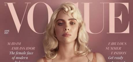 Zo zag je haar nog nooit: Billie Eilish verrast met fotoshoot in Britse Vogue