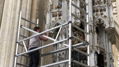 Sacramentstoren Sint-Pieterskerk na jaar volledig gerestaureerd