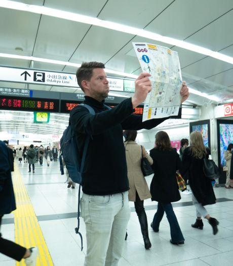 Zo bizar en complex zijn de 18 metrolijnen in Tokio: 40 meter diep en 200 uitgangen