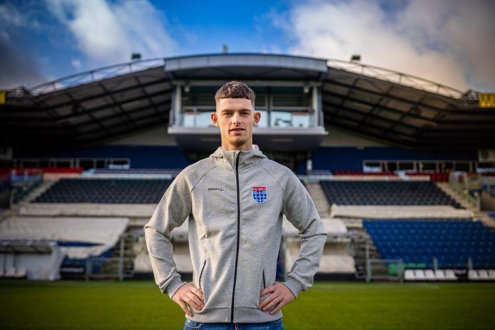 Thomas Buitink werd vorige week gehuurd van Vitesse. Bij PEC Zwolle hoopt de spits niet alleen veel te spelen, maar ook veel te scoren.