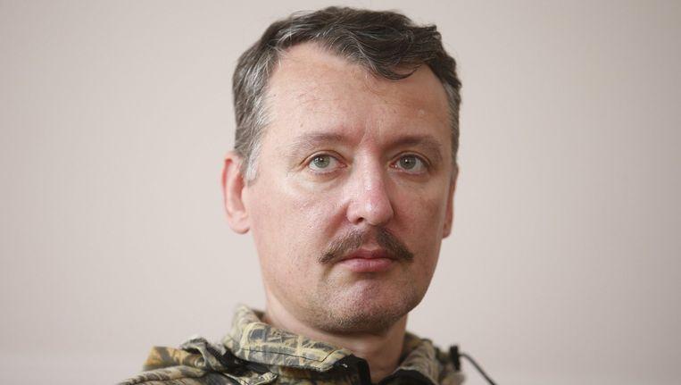 De Pro-Russische rebellenleider Igor Strelkov. Beeld REUTERS