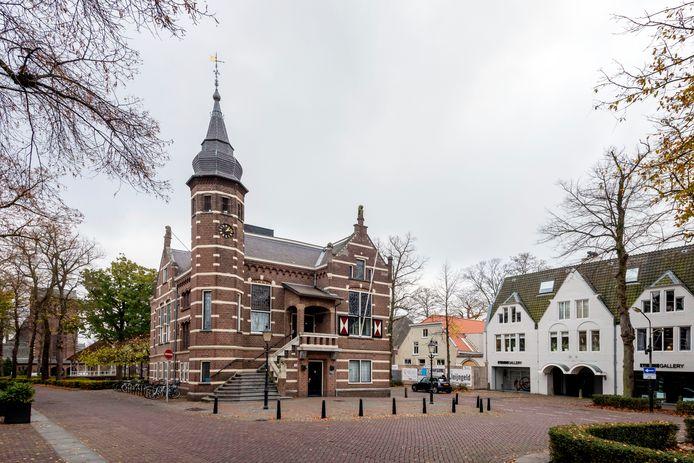 Het raadhuis van Oisterwijk.