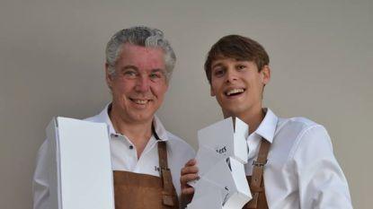 """Chocolatiers Piet en Roberto uit Oudenaarde openen tweede zaak in Ronse: """"Iets meer rock-'n-roll"""""""