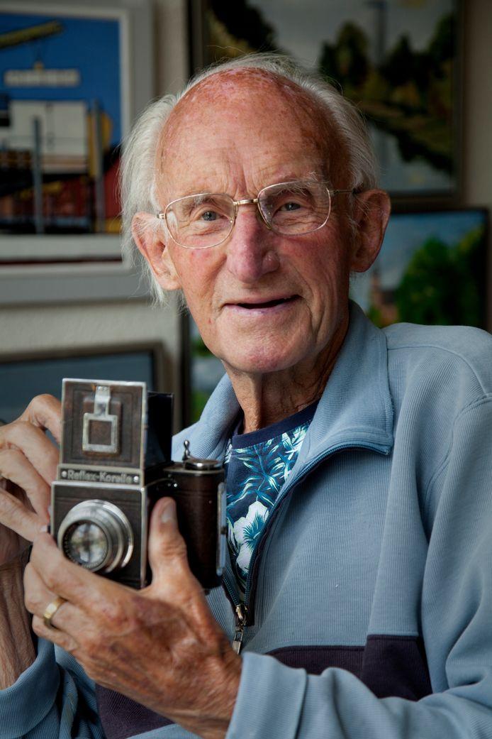 Jaap van der Vooren sr. geportretteerd door zoon Jaap van der Vooren jr. (zomer 2020)