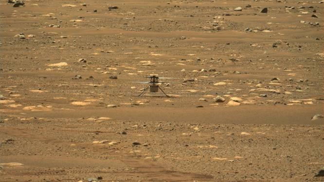 Vierde start Mars-helikopter Ingenuity mislukt