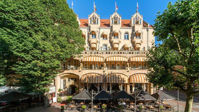Het American Hotel aan het Leidseplein, vanaf april 2020 een Hard Rock Hotel Beeld Eden Hotels