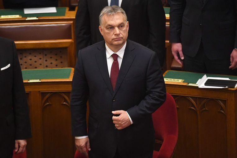 Hongaars premier Viktor Orbán. Beeld Anp