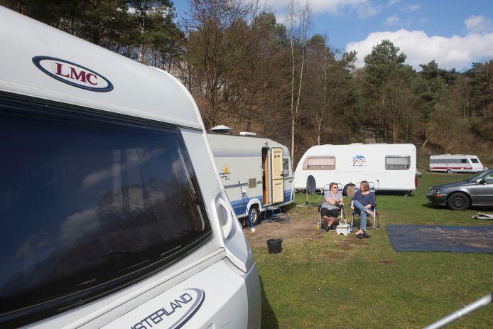 Camping de Braamhorst in Ede.