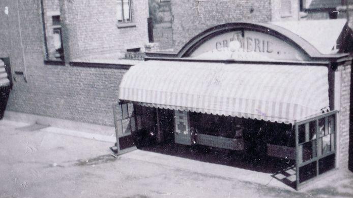 De bierhandel had ooit een 'crèmerie' in de Overwinningsstraat.