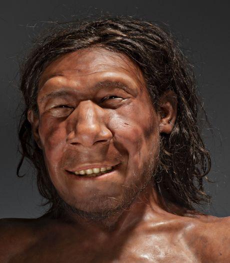 Eerste Nederlandse neanderthaler Krijn heeft een gezicht gekregen