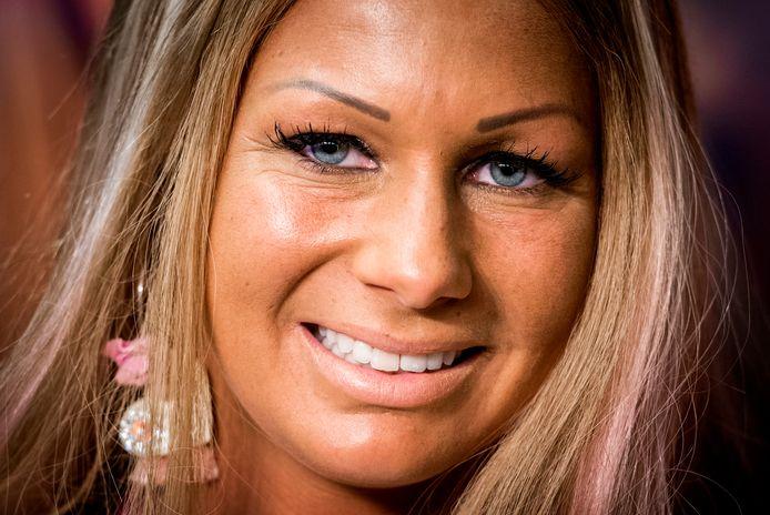 Samantha de Jong, oftewel Barbie.