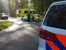 Motorrijder gewond na aanrijding met busje in Haaksbergen