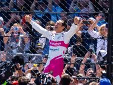 Braziliaan Castroneves (46) wint Indy500 voor de vierde keer, Van Kalmthout finisht als achtste