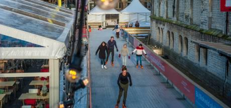 Einde van een traditie: schaatsen rondom het Goudse Stadhuis lijkt verleden tijd