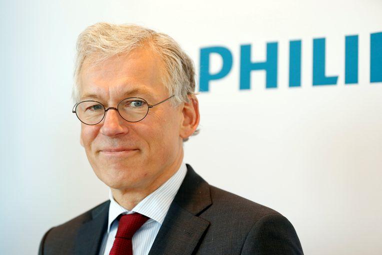 Philips-topman Frans van Houten. Beeld REUTERS