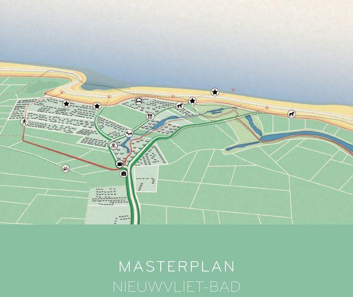 Nieuwvliet wacht een enorm project, dat de uitstraling van met name de kust verandert.