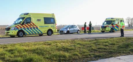 Meerdere gewonden bij kop-staartbotsing tussen Ens en Schokland