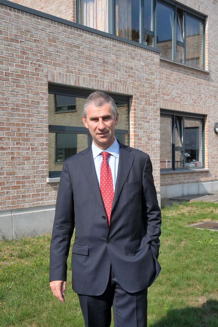 Burgemeester Dirk De Maeseneer.