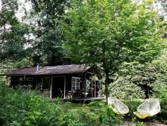 Groot geluk op een klein plekje: Nathalie en Piet vinden rust in hun chalet in het bos