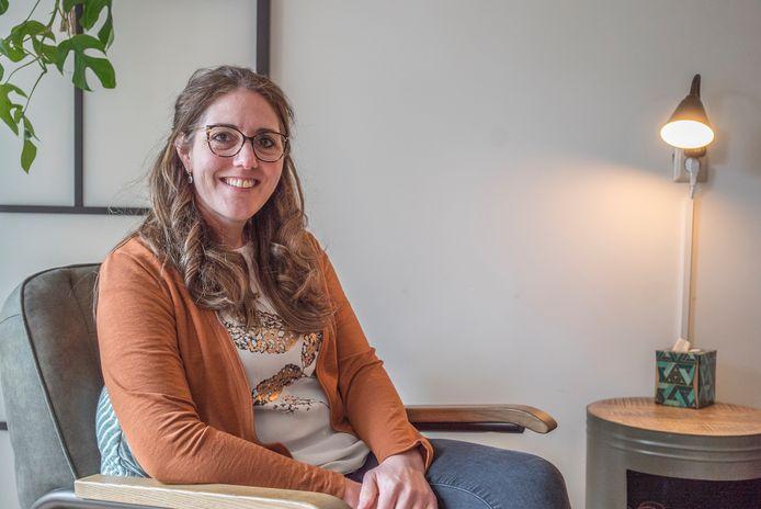Miskraambegeleidster Esther Cozijnsen.