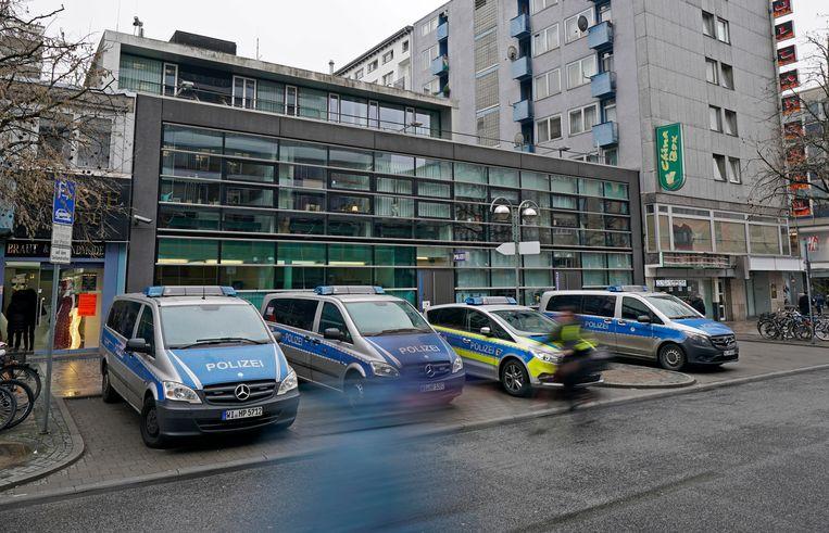 Uit onderzoek blijkt dat extreemrechtse politieagenten achter de Duitse NSU 2.0 dreigementen zitten. Beeld EPA