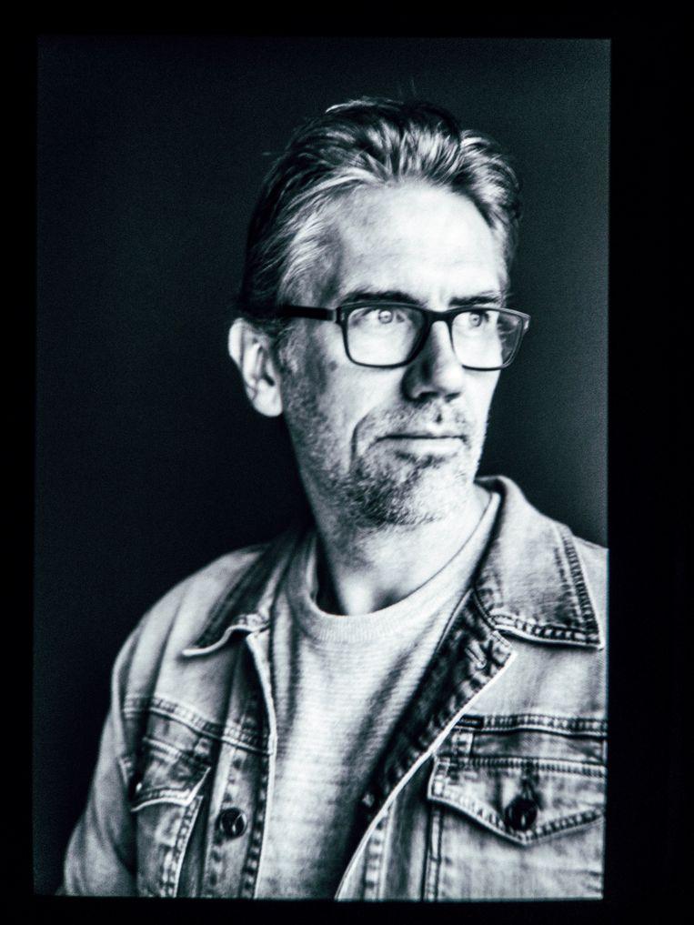 Rik Leenknegt, opleidingscoördinator en medeoprichter van de Digital Arts and Entertainment-opleiding. Beeld Thomas Sweertvaegher
